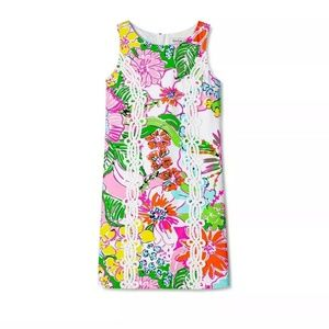 New Lilly Pulitzer Nosey Posie Floral Shift Dress